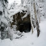 The cave snow-1